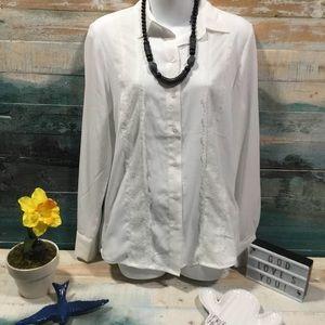 H&M blouse size 4